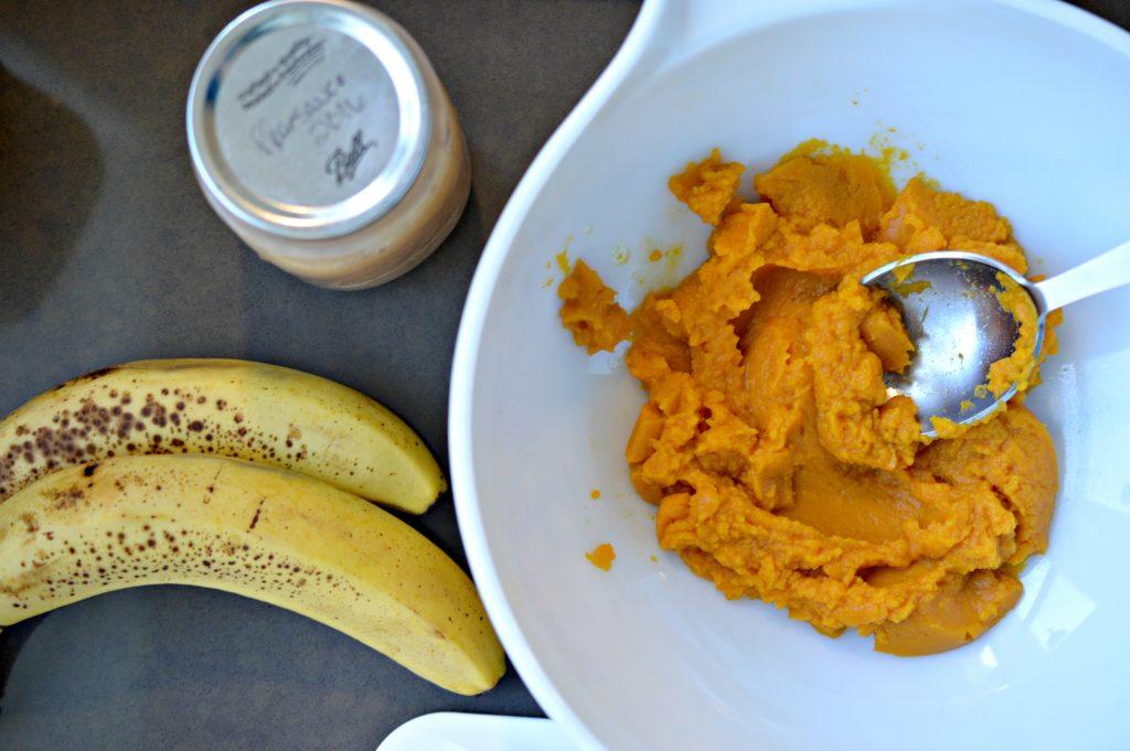 Ingredients for Pumpkin Bites