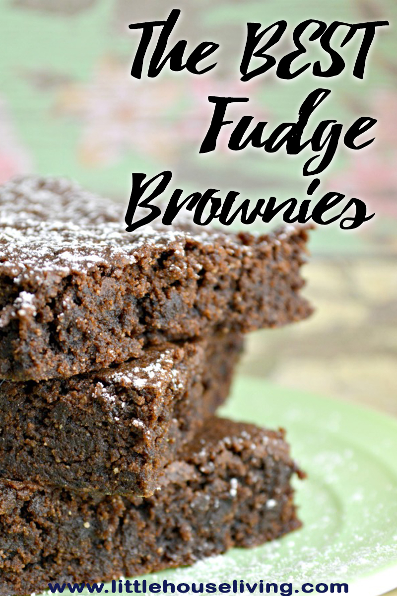 Thumbnail image for The Best Fudge Brownies Recipe