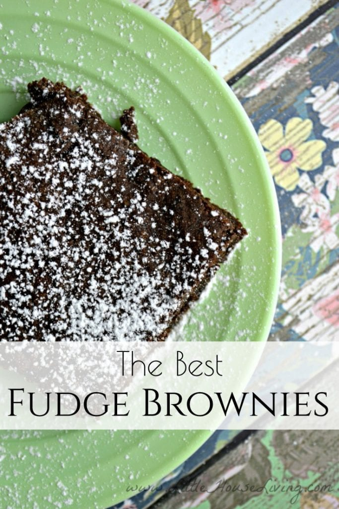 This is the Best Fudge Brownies Recipe, not only is it simple to make and tastes great, it is egg-free and can be easily adapted to be gluten-free and dairy-free, making it a great recipe for everyone to enjoy! #homemadefudgebrownies #browniesfromscratch #allergenfriendly #glutenfree #dairyfree