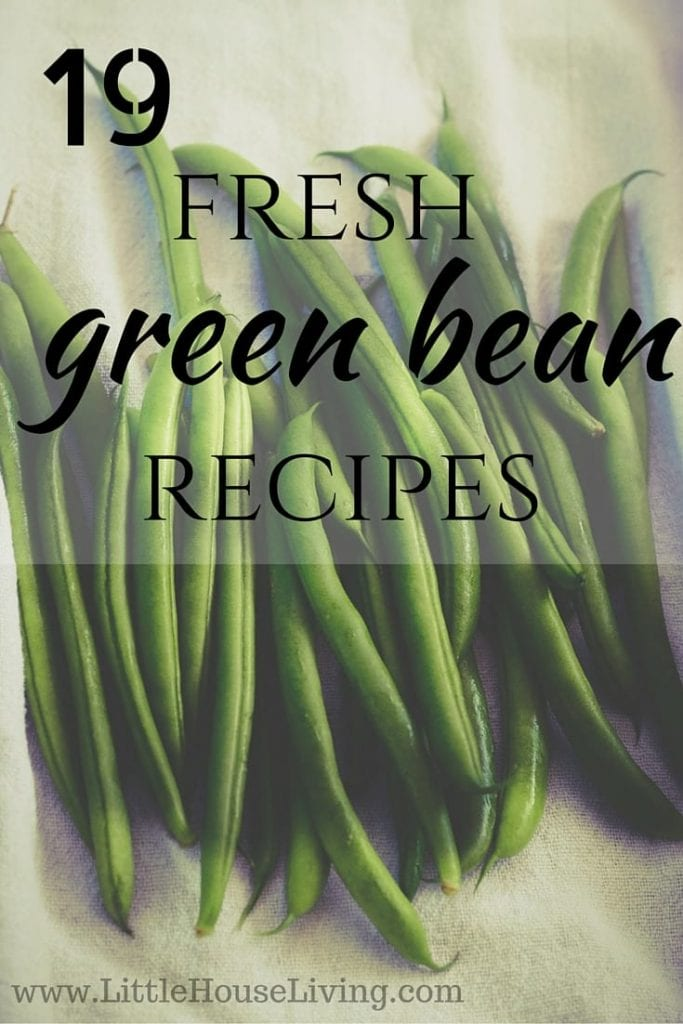 19 Fresh Green Bean Recipes