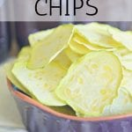 Need yet another way to make use to that zucchini you are getting from your garden? These Zucchini Chips make a great snack and they are so easy to put together!