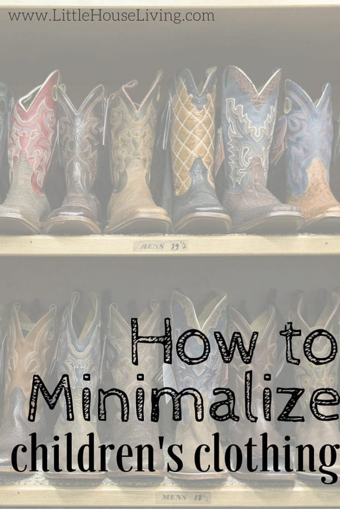 How to Minimalize Children's Clothing