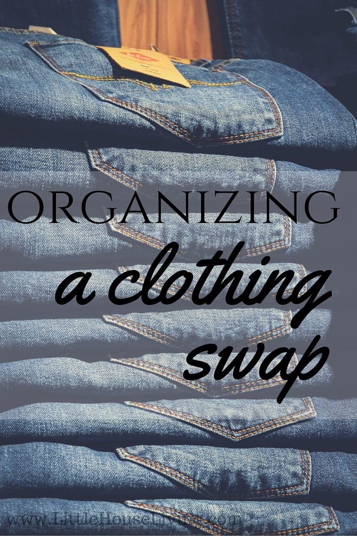 Organizing A Clothing Swap