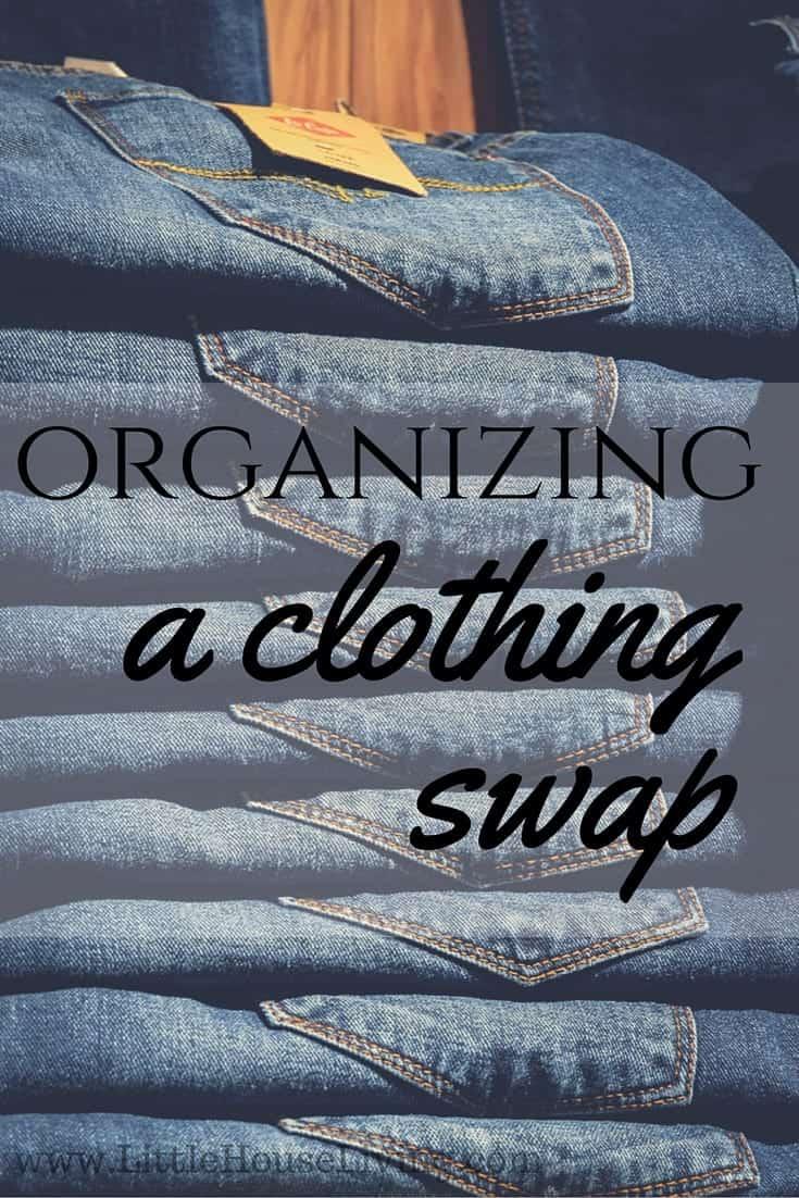 Organizing A Clothing Swap
