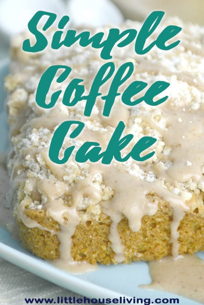 Simple Coffee Cake