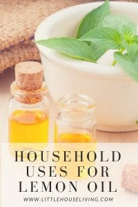 household uses for lemon oil