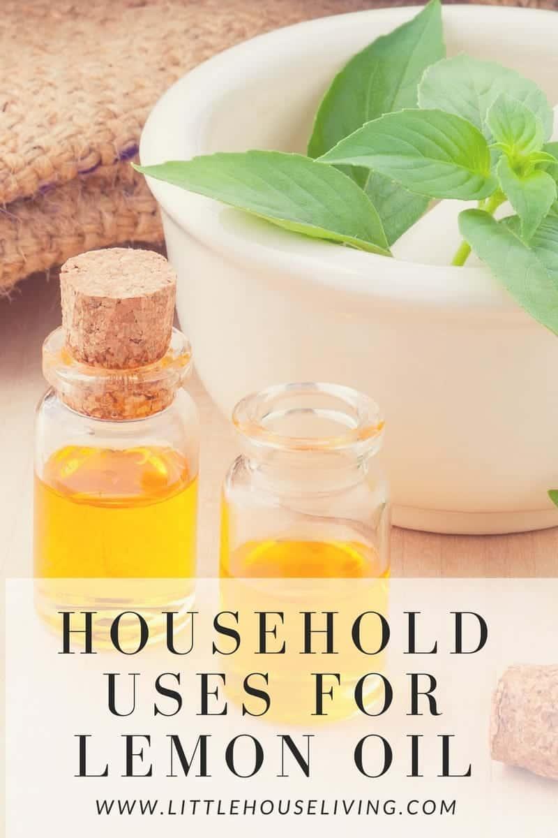 household uses for lemon oil