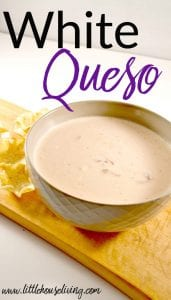 Recipe for White Cheese Dip