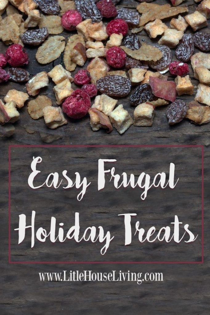 Save time & money this holiday season with these delicious easy frugal holiday treats!
