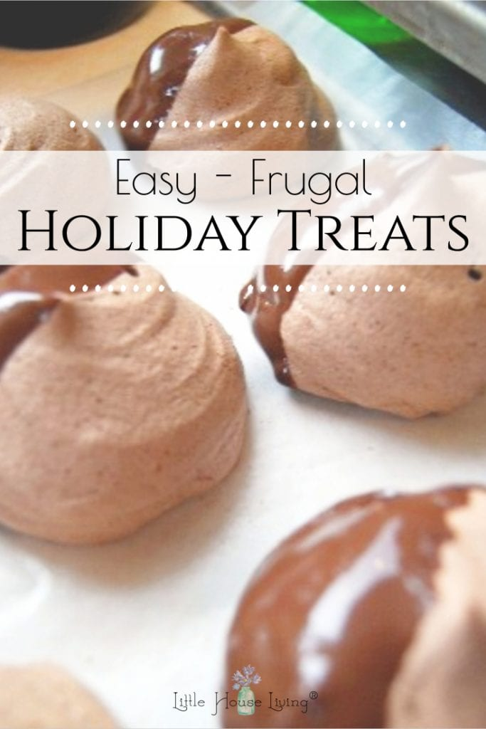 Are you baking for friends and family this Christmas? Here are some easy holiday treats that are frugal and delicious, perfect for gifts and gatherings! #frugaltreats #holidaytreats #easytreats #christmascookies #homemade