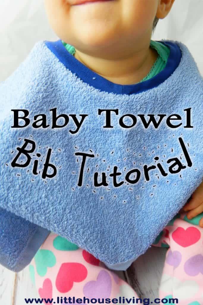 Towel Baby Bib Pattern