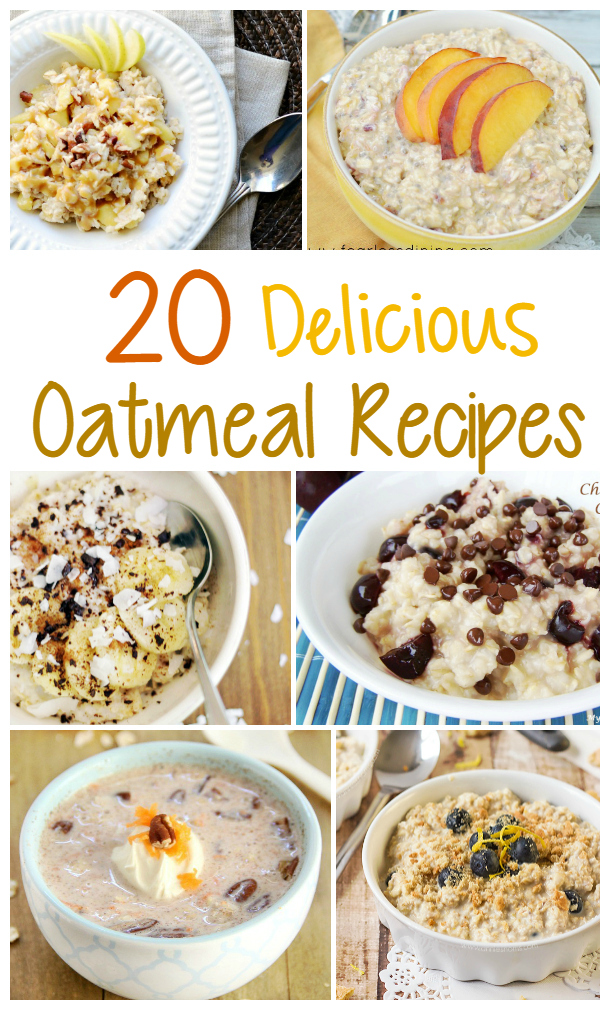 20 Delicious Oatmeal Breakfast Recipes