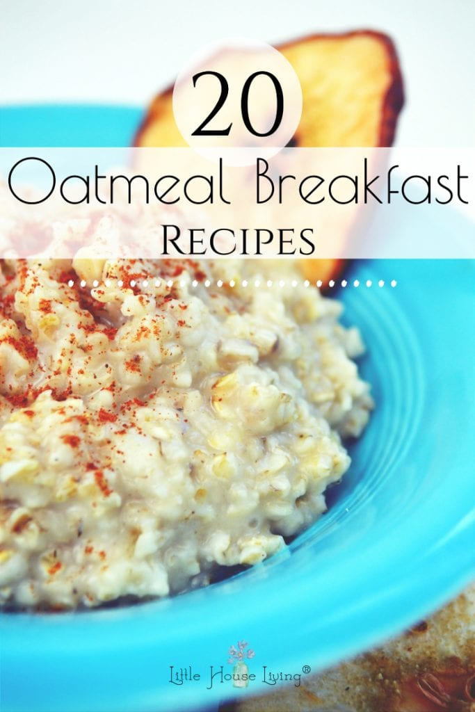 Need some breakfast inspiration? You will find what you are looking for in one of these 20 delicious Oatmeal Breakfast Recipes! #oatmeal #breakfast #recipes #oatmealrecipes #reciperoundup
