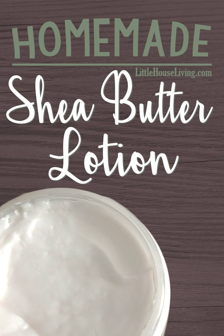 Make your own Homemade Shea Butter Lotion!