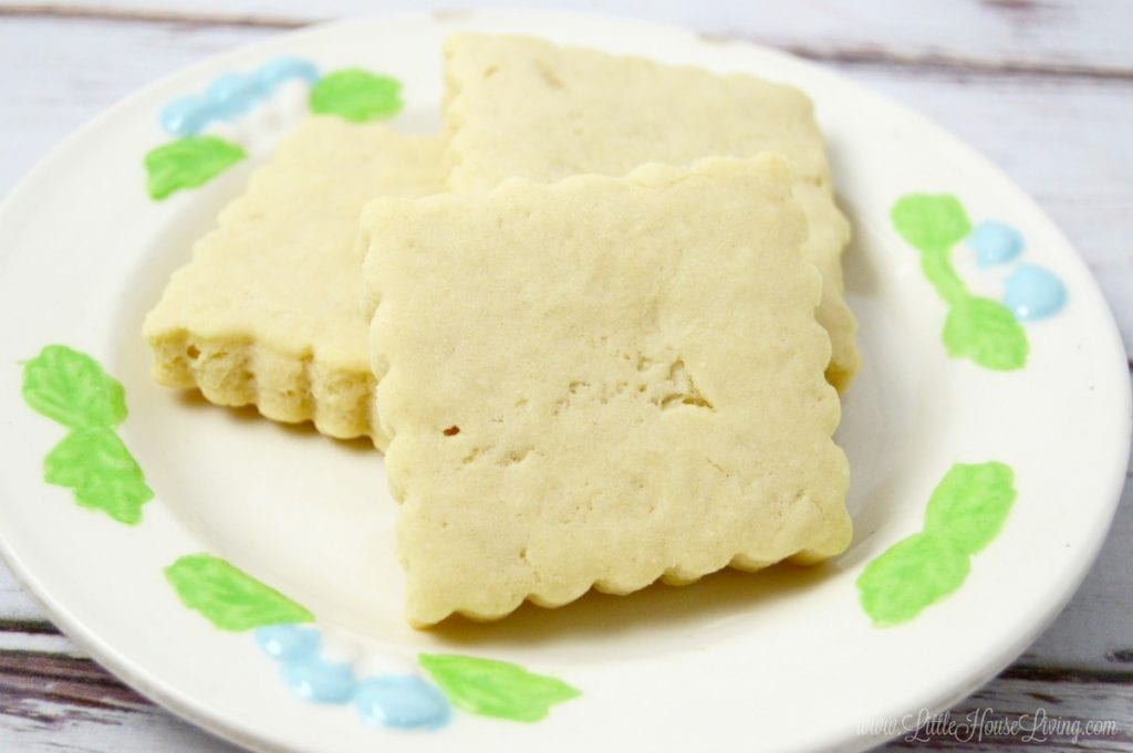 This delicious basic shortbread recipe is very easy to make and only uses a few ingredients! This easy homemade recipe is sure to be a family favorite!