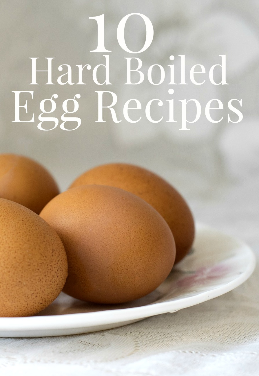 Need some new hard boiled egg recipes to try? Here are 10 creative ideas!
