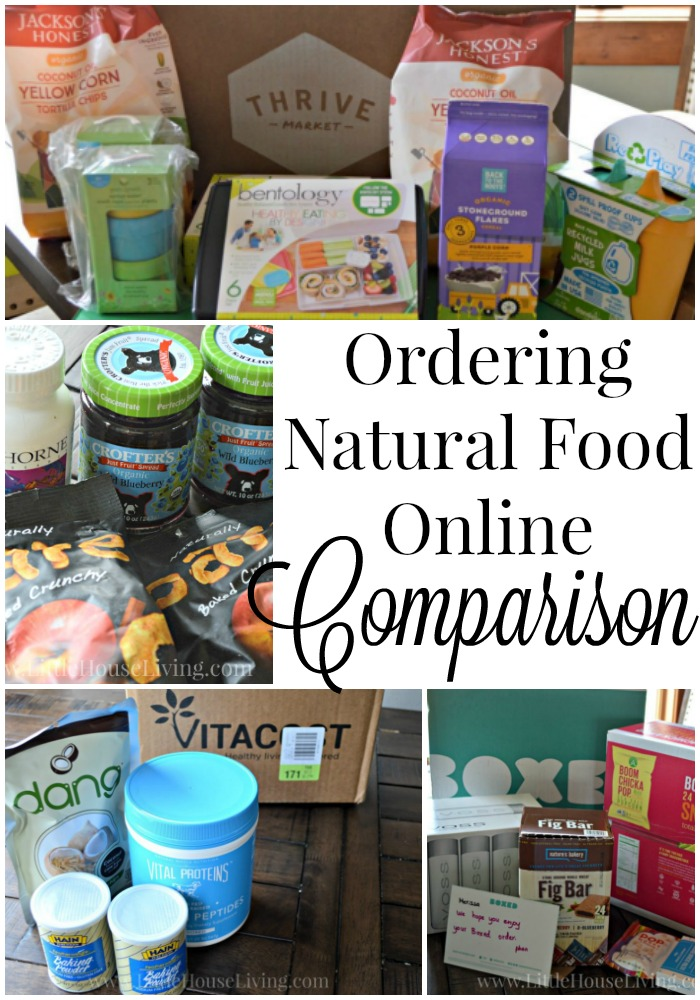 Have you been considering ordering some of your food and household items online? Here is a look into 4 different companies...what I ordered, how it came, and what I thought!
