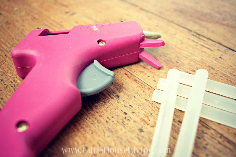 uses for glue gun