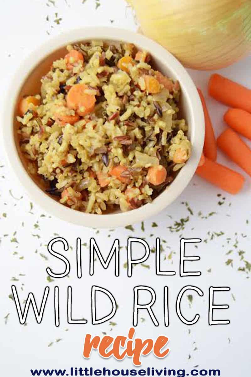 Basic Wild Rice Recipe
