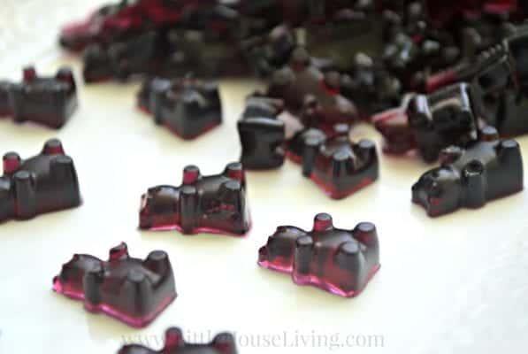 blueberry gummy bears