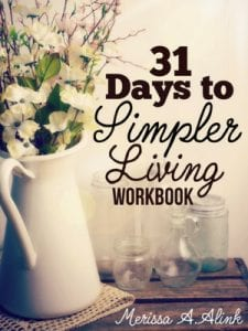 31 Days to Simpler LIving