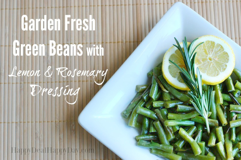 Green Beans with Lemon Dressing