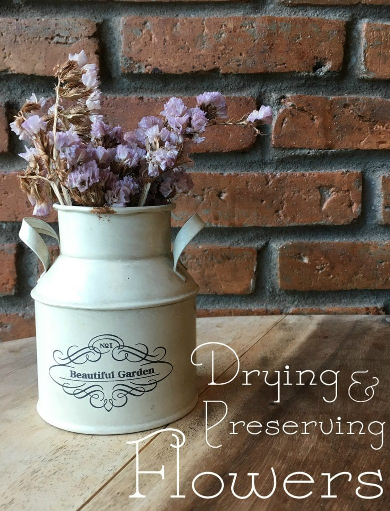 Drying and Preserving Flowers