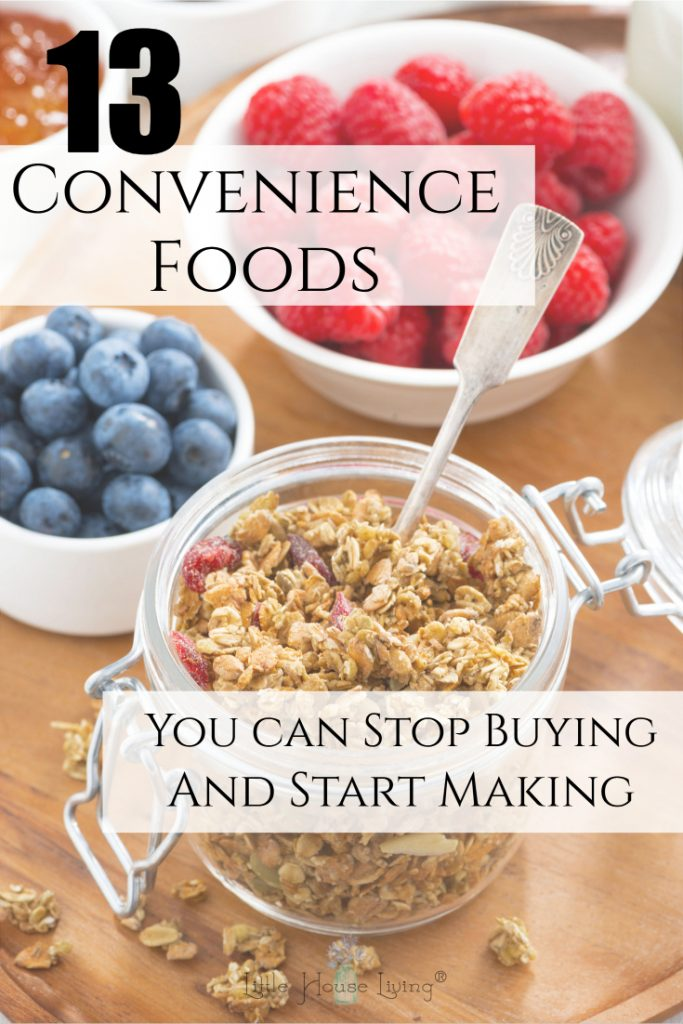 Trying to stretch your grocery budget? Make these Convenience Food Recipes from scratch to stock your pantry at a fraction of the cost! #fromscratch #makeyourown #diy #conveniencefoodrecipes #homemadeconveniencefoods