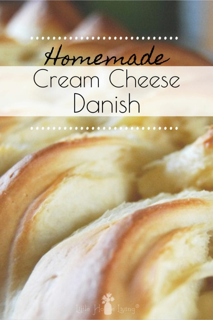 This is the best Cream Cheese Danish Recipe from scratch! It's beautiful and delicious and would be perfect for breakfast, brunch or any time of day as a delicious snack. #easyrecipe #creamcheesedanish #danishbraid #cheesedanish #danishrecipe #danishbraidrecipe