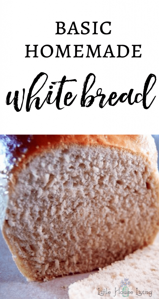 Need the perfect recipe for bread? This wonderful Basic White Bread recipe will be your new staple! Make your own homemade bread with this simple recipe and tutorial. No special ingredients or cooking equipment needed. #freshbakedbread #homemadebread #homemadewhitebread #simplerecipe