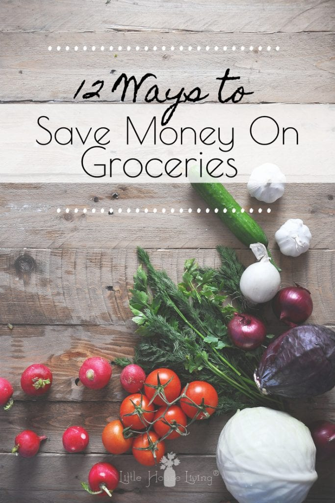 Need to trim your grocery budget even more? Here are 12 simple ways to save on groceries that you can use to save money without breaking a sweat. #savemoney #frugalliving #frugalshopping #savemoneyongroceries #groceryshopping #grocerysavings