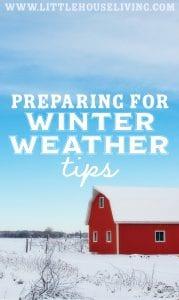 Preparing for Winter
