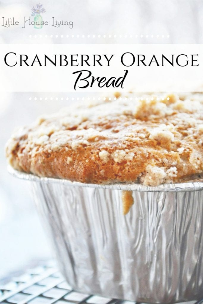 Looking for a wonderful gift to make your neighbors or friends this Christmas? These Cranberry Orange Mini Bread Loaves are festive and delicious so they are sure to please! #homemade #cranberryorange #quickbread #homemadebread #cranberryorangebread