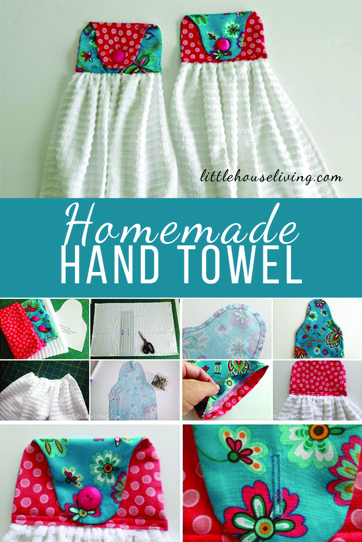 Looking for a simple project that also makes a perfect gift? These hanging towel pattern is easy to sew, easy to customize, and fun to make!