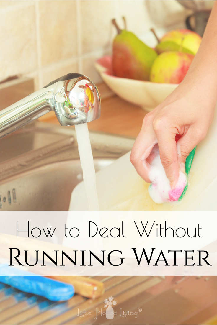Are you prepared in an event of an emergency or situation where you are without water? Here are some tips on how to live with no running water. #norunningwater #howtogetby #nowater #runningwater #beprepared