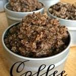 Homemade Coffee Sgar Scrub Recipe