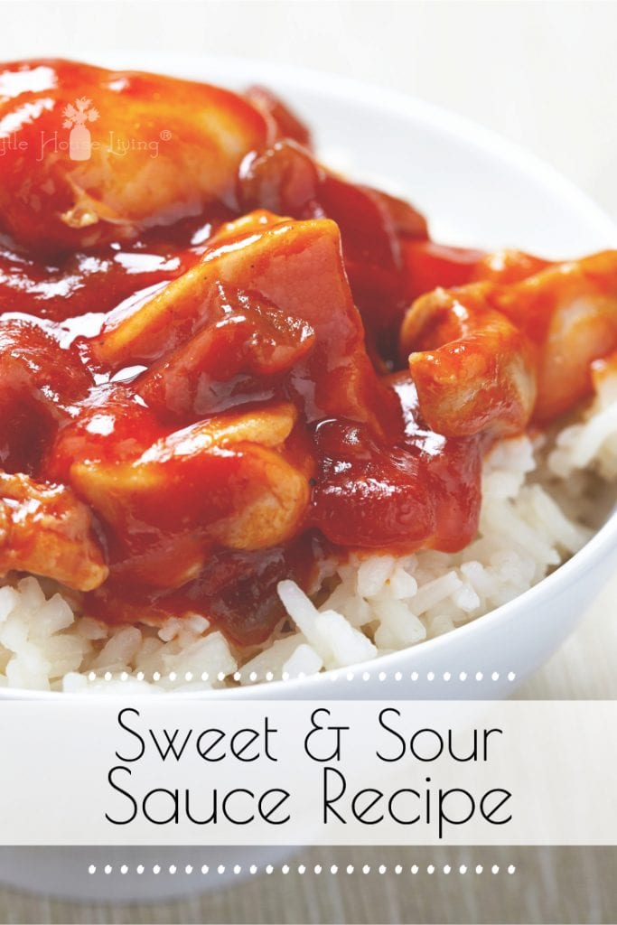 Make your own from-scratch sweet n sour sauce recipe with this very easy tutorial! #homemade #recipe #makeyourown #sweetandsoursauce #homemadesweetandsour