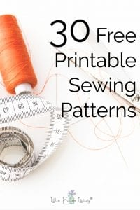 picture relating to Printable Sewing Patterns titled No cost Printable Sewing Behavior - Womens, Small children, and Property Sewing