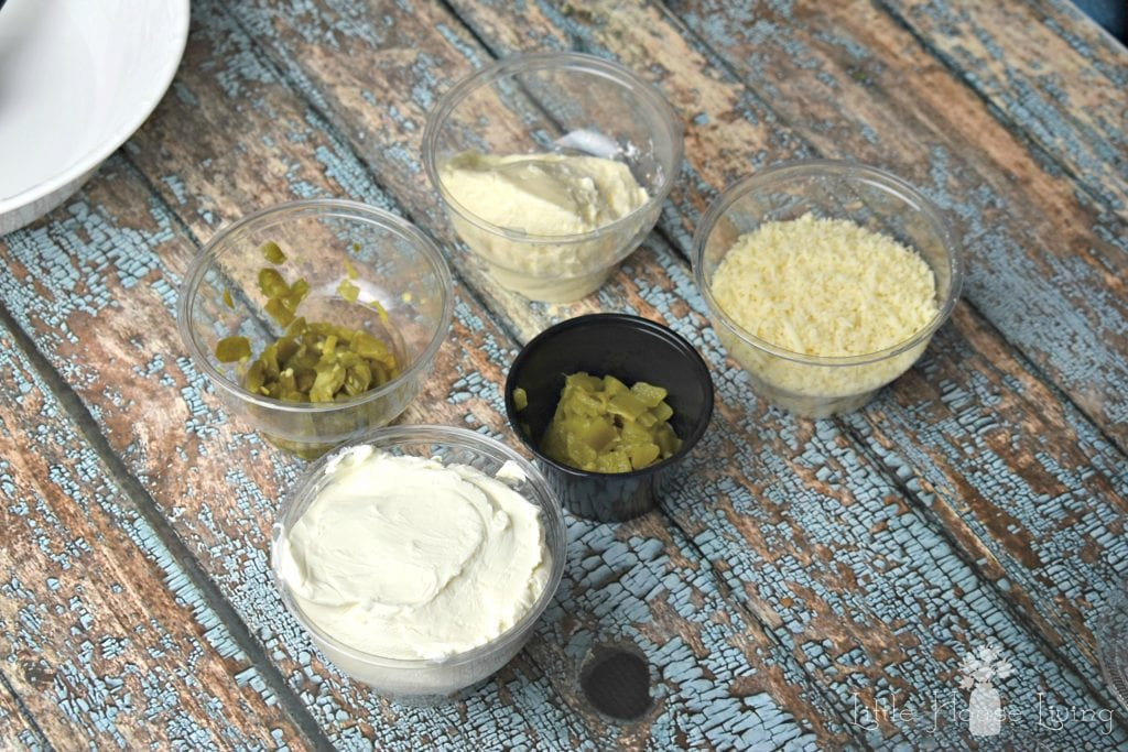 Jalapeno Popper Dip Ingredients