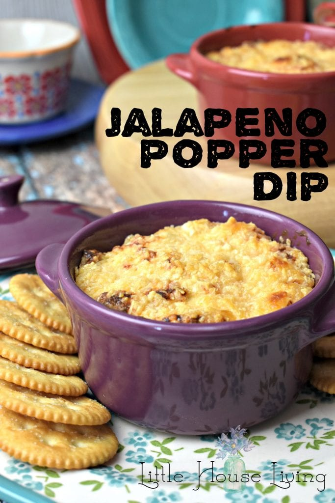 Jalapeno Popper Dip Recipe - Warm Cheesy Jalapeno Dip