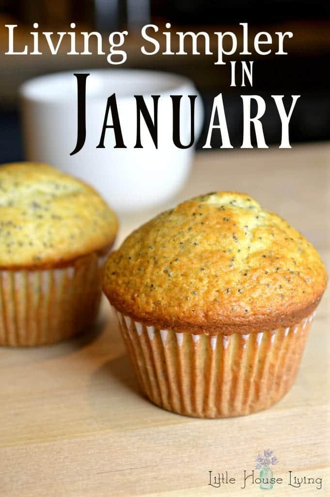 Living Simpler in January