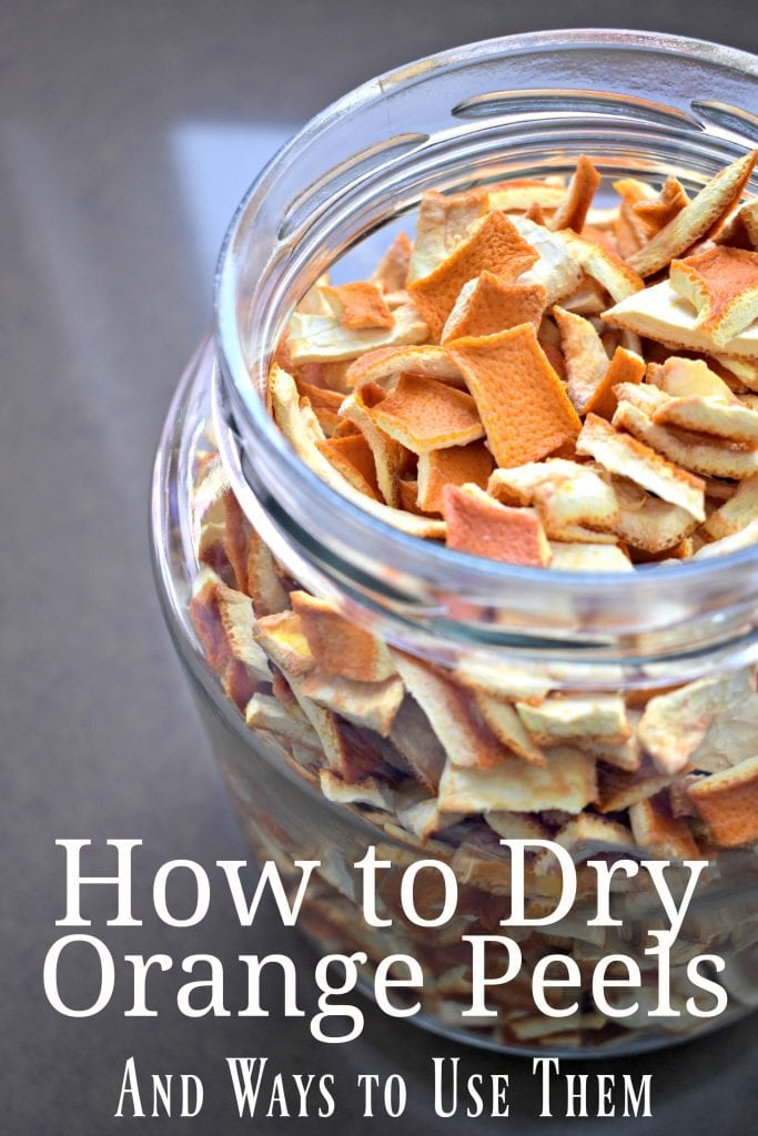 How to Dry Orange Peels