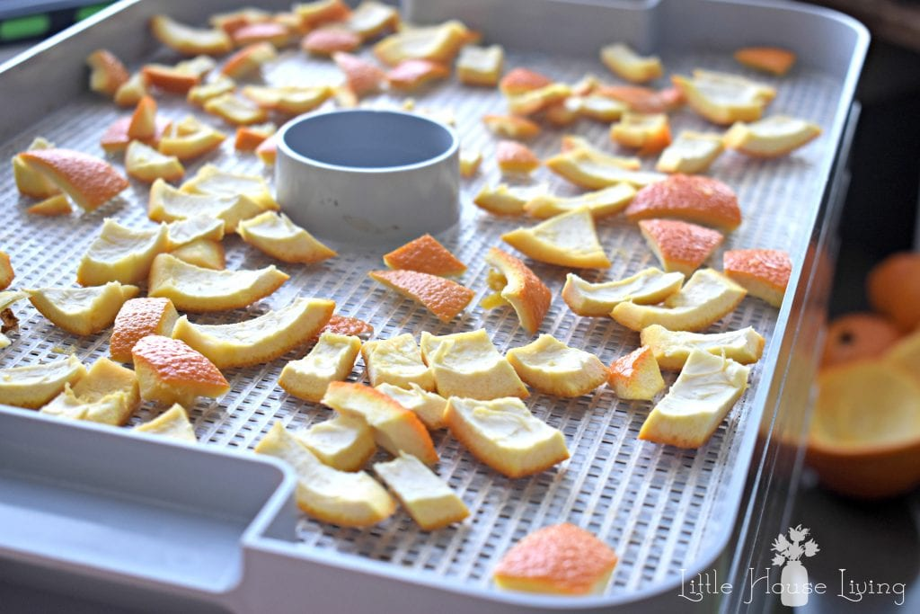Drying Orange Peel