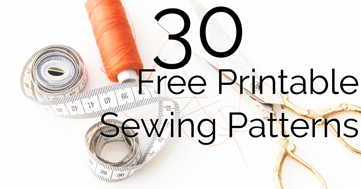 photo relating to Printable Sewing Patterns identify No cost Printable Sewing Practices - Womens, Youngsters, and Residence Sewing