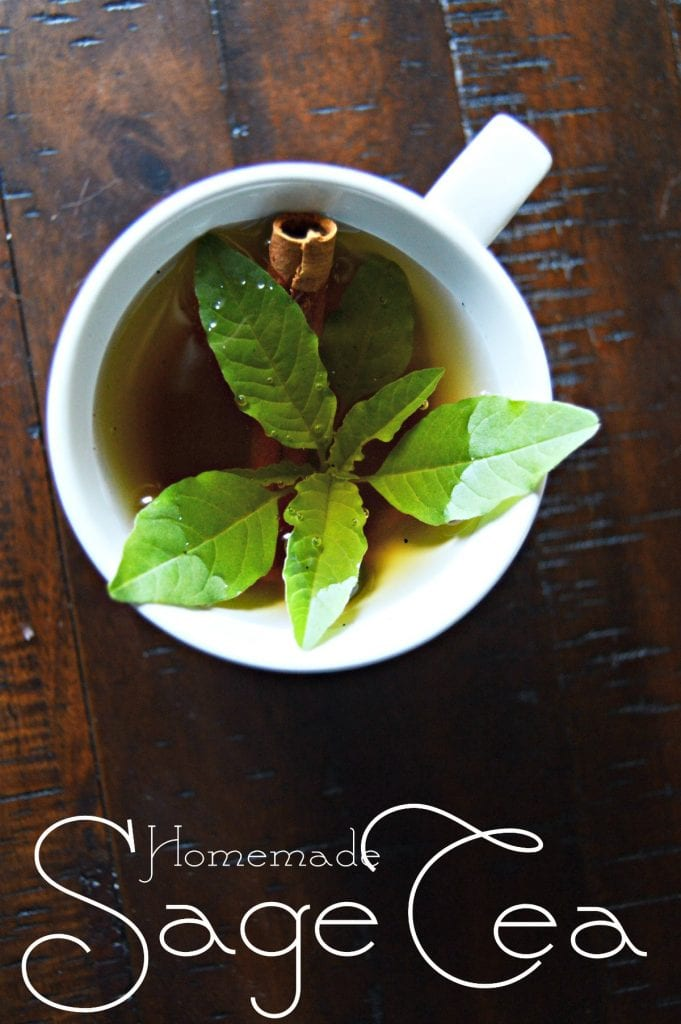 How to Make Sage Tea