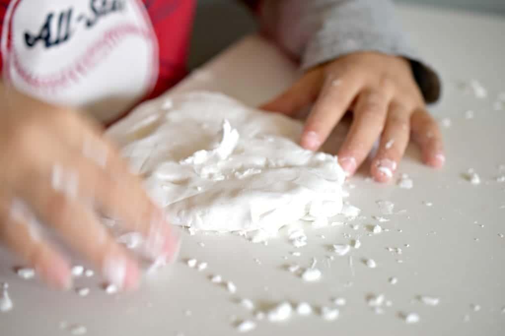 Homemade Snow Dough Recipe