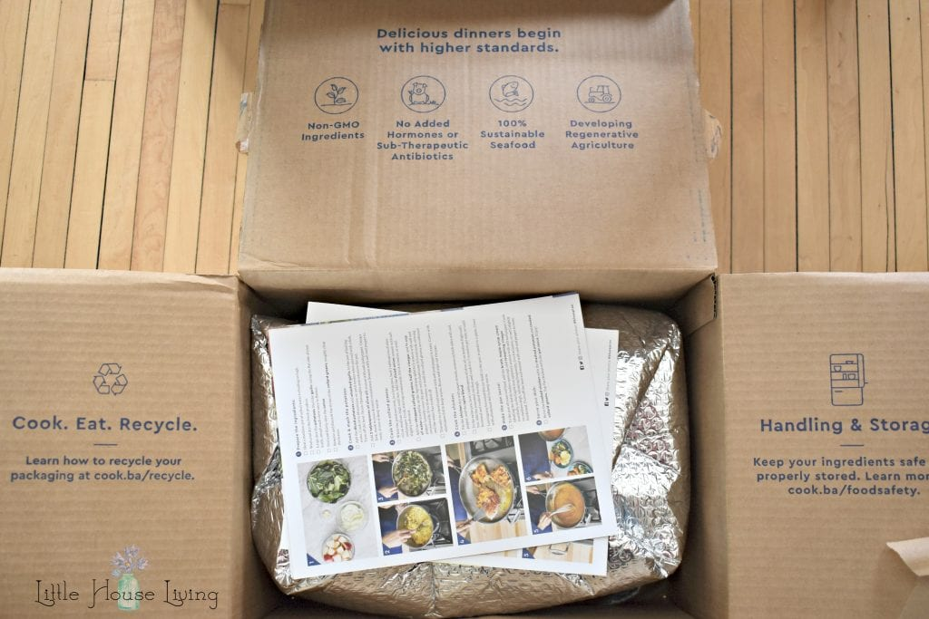 Blue Apron Meal Box