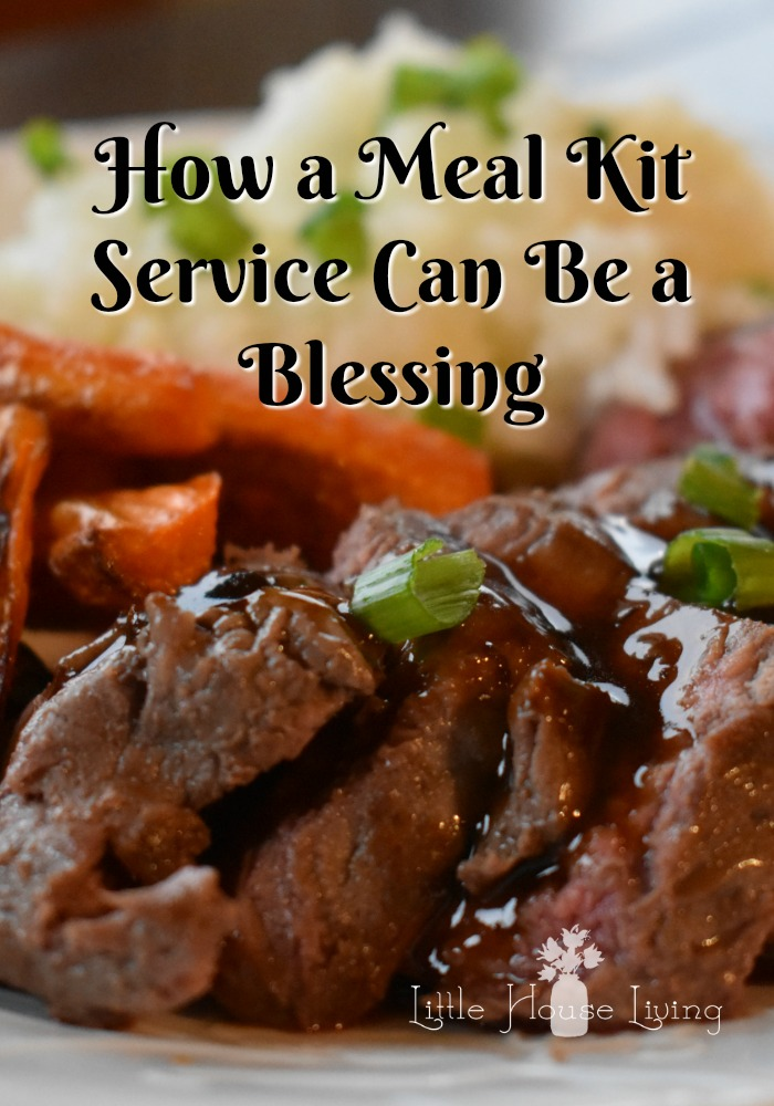 How a Meal Kit Service Can Be a Blessing