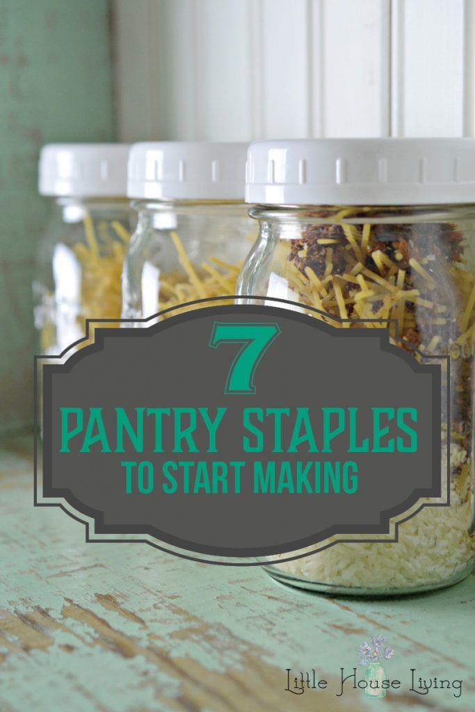 pantry staples you can make