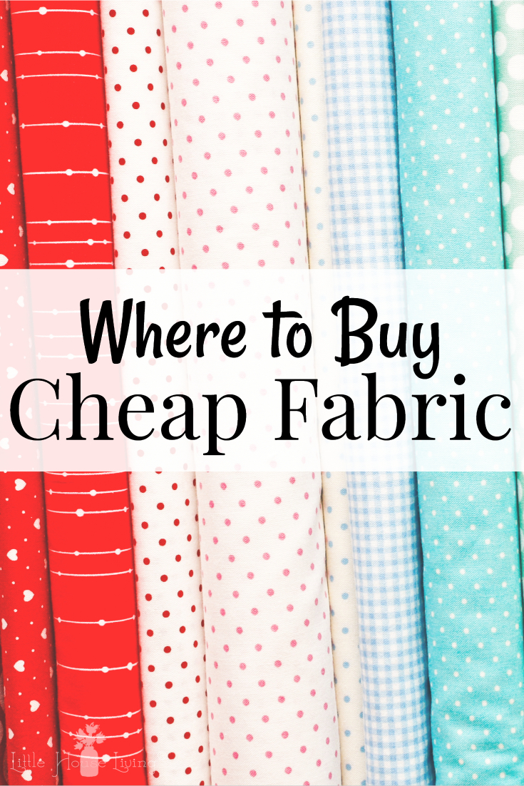 dbeecd49f5c0 Want to be a seamstress but are shocked by the high price of fabric  Here s  where to buy fabric so that you can make the most of your crafting budget.